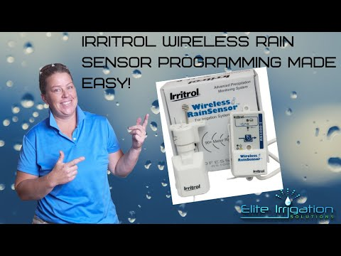 Irritrol Irrigation Rain Sensor Installation