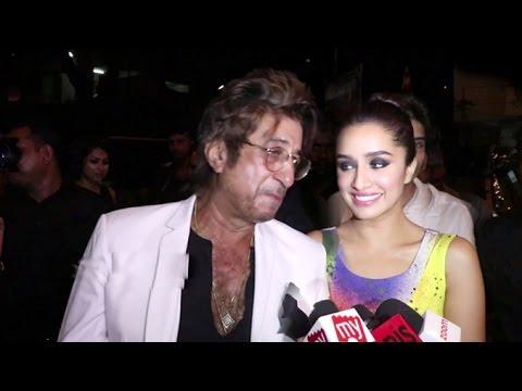 Shakti Kapoor's Sweetest Comment For Daughter Shraddha Kapoor