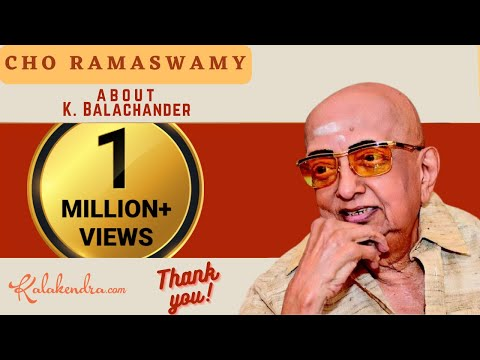 Xxx Mp4 Kalakendra Hillarious Talk By Cho About Director K Balachander 3gp Sex