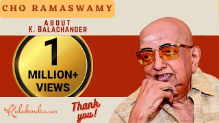 Kalakendra | Hillarious Talk by Cho about Director K Balachander