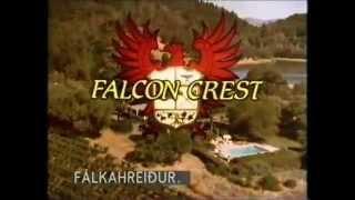 """مقدمة المسلسل الامريكي الشهير """"فالكون كريست Falcon Crest"""""""