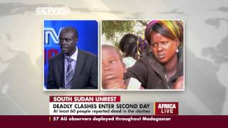 A studio interview with security expert George Masamali on the South Sudan conflict