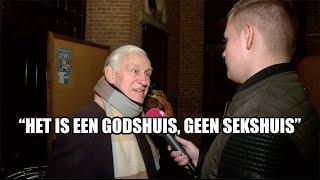 Kerk woest op Kim Holland