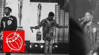 Fancy Gadam, Kidi and Kuami Eugene performed at the People's Celebrity Awards  2017