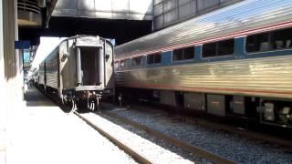 Amtrak Train 79 Washington DC Power Change with #910, #139 and #117