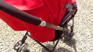 Aprica LUXUNA飛翔系列嬰兒手推車測試by寬寬媽