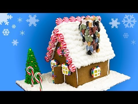 How to Make a Gingerbread House Gingerbread House Recipe from Cookies Cupcakes and Cardio