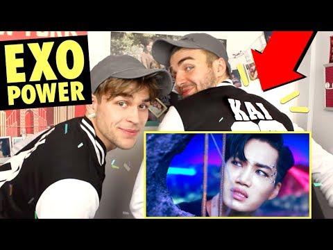 EXO 엑소 'Power' MV Reaction! [feat. Kai fanboy overload!]