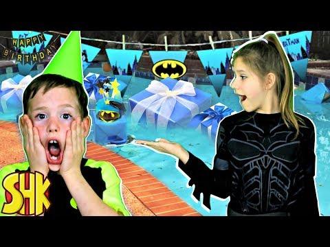 Noah s Batman Birthday Party
