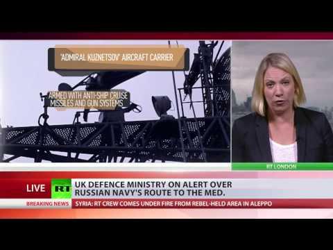 watch UK Navy pledges to 'man-mark' passing Russian fleet