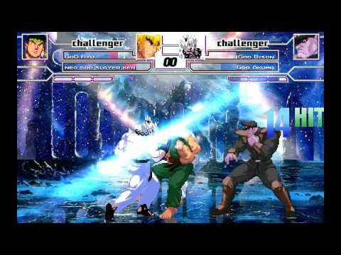 M.U.G.E.N 2vs2 Battles God Ryu Neo God Slayer Ken vs God Bison God Akuma