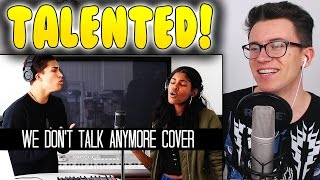 Alex Aiono - We Don't Talk Anymore by Charlie Puth and Selena Gomez REACTION