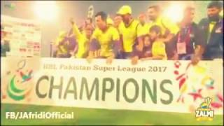 New 2017 peshawar zalmi song part 2 javid khana Must Watch