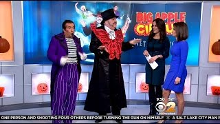Big Apple Circus Transforms Lincoln Center For Show 'Metamorphosis'