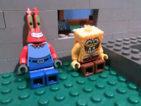 Lego Spongebob parody Nasty Patty