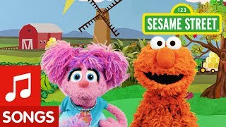 Sesame Street: Find Orange with Elmo and Abby!   I Spy Color Song #1