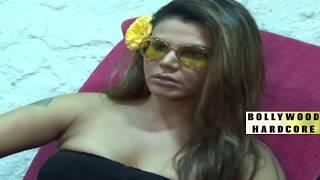 RAKHI SAWANT BODY MASSAGE | Full Video !!