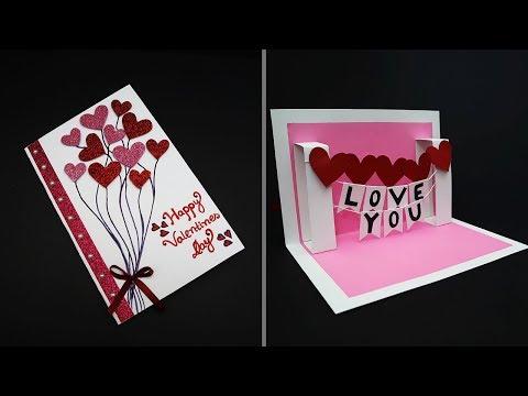 Xxx Mp4 DIY Valentine Card Handmade I Love You Pop Up Card For Valentine S Day Anniversary Card 3gp Sex