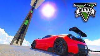GTA V Online: A MEGA RAMPA EXTREMA com SUPER!!!