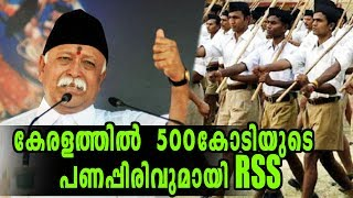RSS Collecting 500Cr From kerala | Oneindia Malayalam
