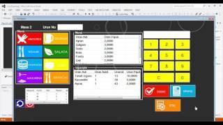 C# Restaurant Otomasyon | Ders -78 Kasa işlemleri Ayık Rapor