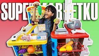 Mainan anak kasir-kasiran Supermarket besar model terbaru
