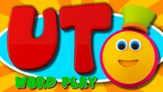 Learning Street With Bob The Train | UT Words | Word Play | Learning Videos For Children By Kids Tv