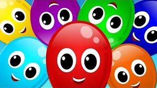Balloon song | Learn Colors | Original Song | Nursery rhymes | kids songs