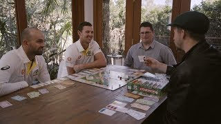 It's Your Game - Nathan Lyon and Josh Hazlewood & the Monopoly masters