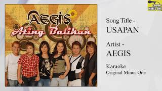 Aegis - Usapan (Karaoke - Original Minus One)