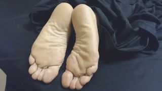 Soft Male Soles in the Morning