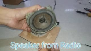 How to make mp3 speaker at home - home made  Full HD