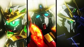 Gundam Build Fighters Try Episode 15 ガンダムビルドファイターズトライ Review - Team Try Fighters Reborn!