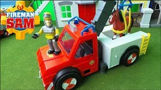 Feuerwehrmann Fireman Sam SIMBA PHOENIX rescue Truck unboxing and new Henry the Horse Full Episode