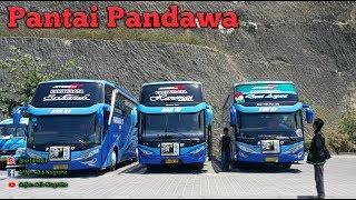 Indahnya Pantai Pandawa    Bus Pandawa 87 mampir ke Pantai Pandawa Bali    KKL Elektro hari ke-tujuh