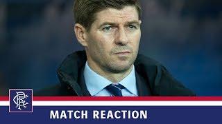 REACTION | Steven Gerrard | Rangers 0-1 Aberdeen