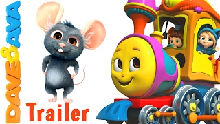 🚂 Farm Animals Train Part 2 – Trailer | Nursery Rhymes and Educational Videos from Dave and Ava 🚂