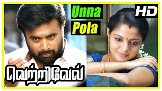 Vetrivel tamil movie | scenes | Unna Pola song | Prabhu warns Ilavarsu indirectly | Sasikumar