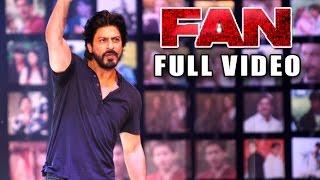 FAN Trailer Launch Event Full Video HD - Shahrukh Khan