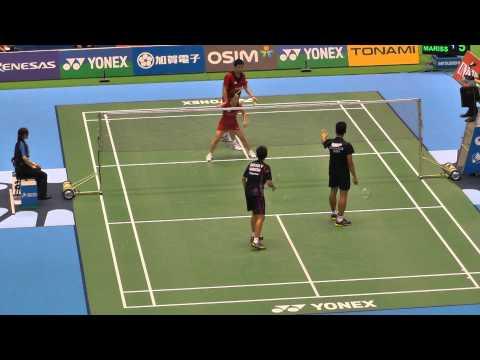 Xxx Mp4 Badminton XD Jordan Marissa Vs 垰畑 福万 3G 1 Yonex Open Japan 2013 9 18 3gp Sex