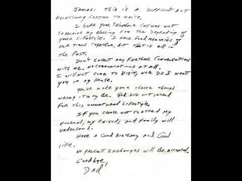 Xxx Mp4 Dad Cites Bible To Disown Gay Son In Letter 3gp Sex