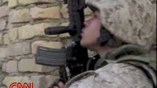 U.S Marines attack Fallujah - INTENSE Video Invasion by US Troops (Iraq)