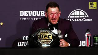 UFC 241: Stipe Miocic Reacts to Win Over Daniel Cormier