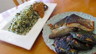Herb Rice with Fish |  Sabzi Polo | سبزی پلو با ماهی