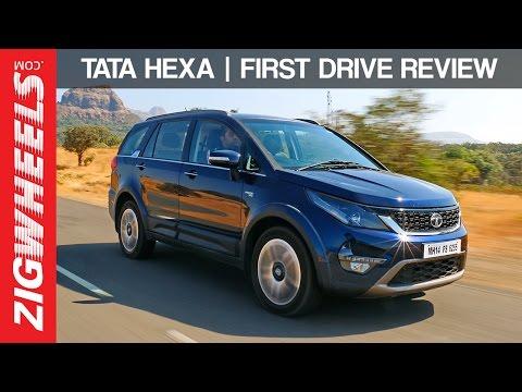 Tata Hexa :: First Drive Review :: ZigWheels India