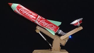 Coca cola Rocket Launcher - How to Make Powerful Weapon Remote Control Rocket Launcher at home