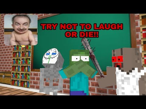 Xxx Mp4 Monster School TRY NOT TO LAUGH OR DIE CHALLENGE MINECRAFT ANIMATION 3gp Sex