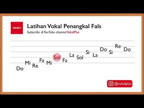 Latihan Vokal Penangkal Fals