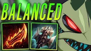 ON-HIT TANK TAHM KENCH OP BUILD ! [ TOTALLY BALANCED LOL ]