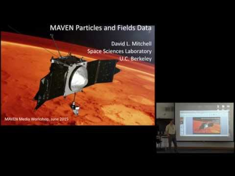 David L. Mitchell—MAVEN Particles and Fields Data
